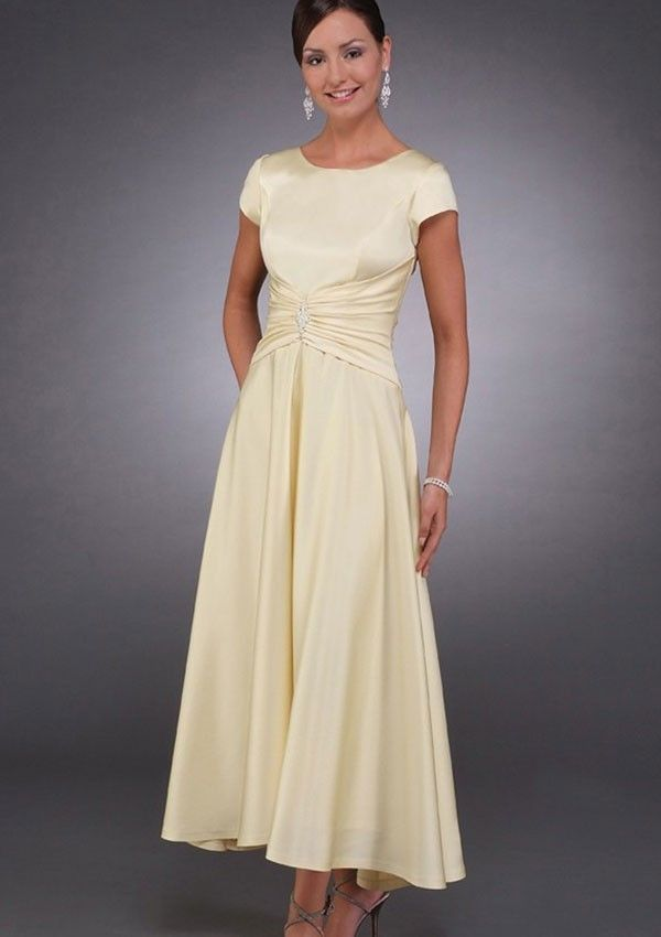 Cotton Mother of Bride Dress