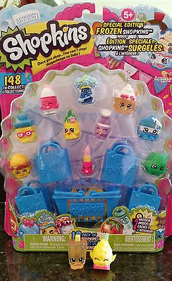 Shopkins Season 1 **Special Frozen Edition 1-12 Pack**Hiddens are Pictured***