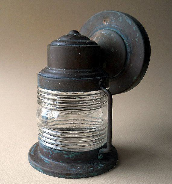 Vintage Jelly Jar Porch Light Fixture