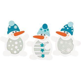 Fensterbilder Schneemänner online bestellen - JAKO-O