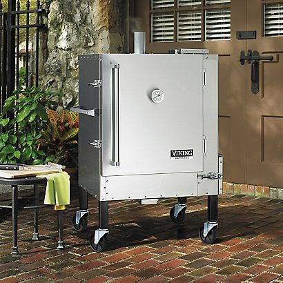 17 best images about grills and smokers on pinterest for Viking outdoor cabinets