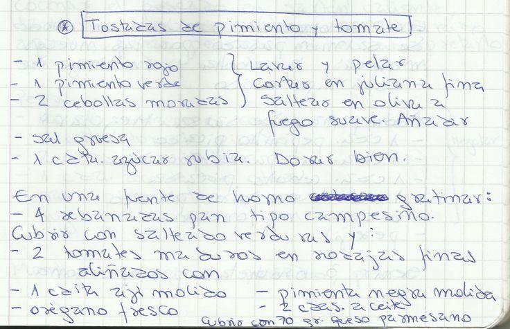 TOSTADAS DE PIMIENTO Y TOMATE   #SALADO #COCTEL #COCTEL #PIMENTONES