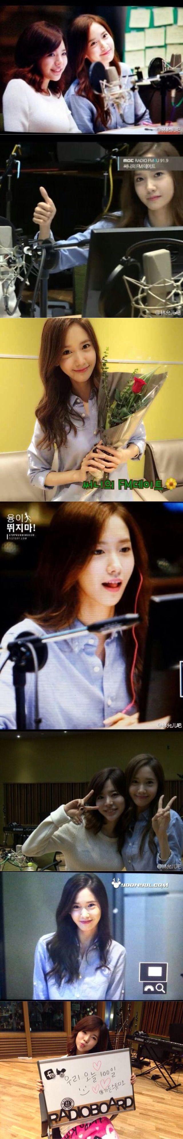 Sunny FM DATE 100 Sunny and Yoona