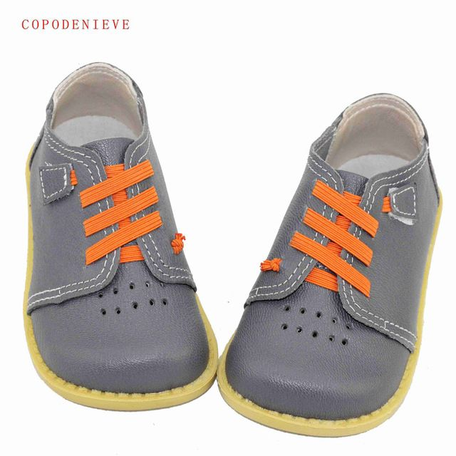 COPODENIEVE Echtem leder Jungen schuhe lederschuhe jungen wohnungen Schuhe für mädchen Turnschuhe kinder freizeitschuhe NmdGenuine leathe