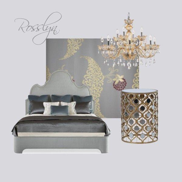 Rosslyn, Calluna by petra-hus on Polyvore featuring interior, interiors, interior design, home, home decor, interior decorating and Farrow & Ball