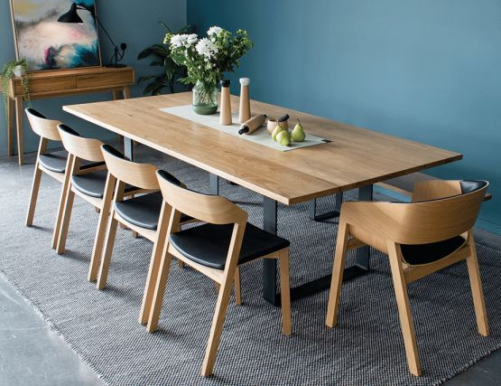 Fabulous When Shopping Contemporary Oak Dining Furniture Some Pieces Home Interior And Landscaping Ferensignezvosmurscom