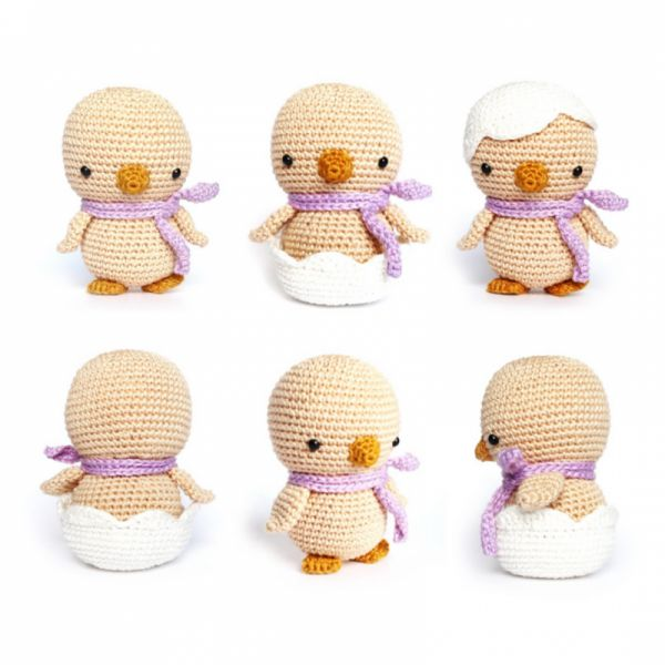 Easter Chick Amigurumi Pattern