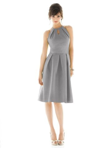 Shop Alfred Sung Bridesmaid Dress - D449 in Dupioni at Weddington Way. Find the perfect made-to-order bridesmaid dresses for your bridal party in your favorite color, style and fabric at Weddington Way.