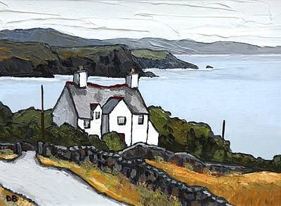 Landscape paintings by David Barnes at the red rag art gallery - http://www.redraggallery.co.uk/artist-david-barnes.asp?gId=1