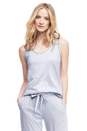 Women's Cotton Modal Sleep Vest
