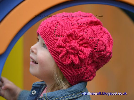 How To Knit A Flower For Baby Hat Uk