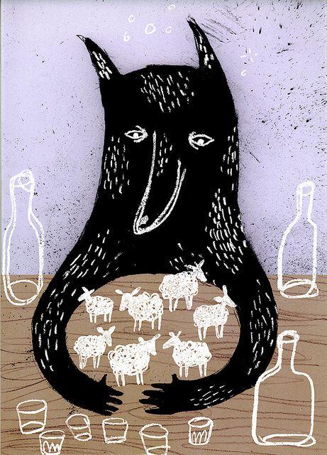 Wolf by Sanna*