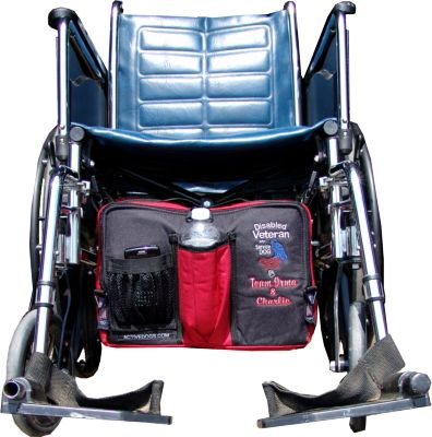 Wheelchair Bag - Under Seat. >>> See it. Believe it. Do it. Watch thousands of spinal cord injury videos at SPINALpedia.com
