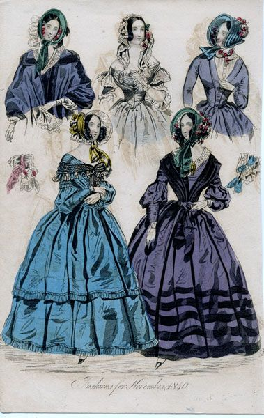 78 Best Images About Early Victorian Fashion 1840 1855 On