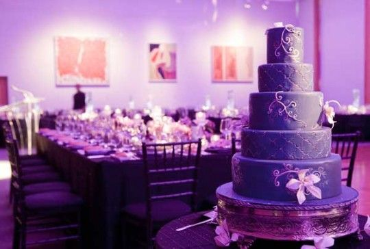 Purple Wedding Cake 81 - pictures, photos, images