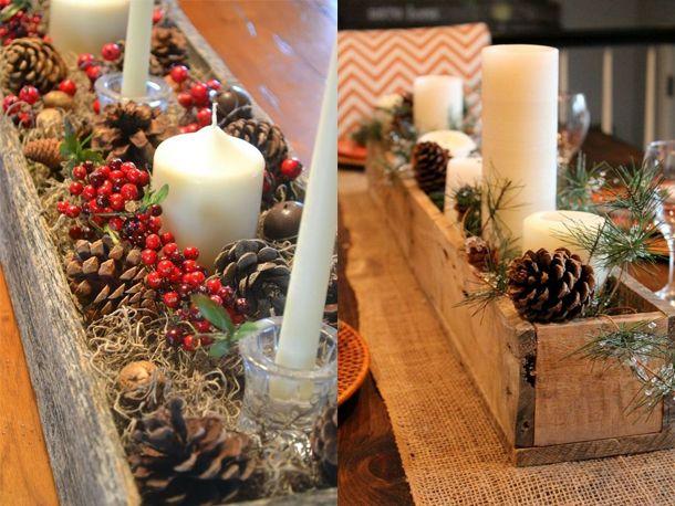 Veja como a pinha, um item simples e de baixo custo, pode ser transformado em diversos enfeites diferentes para o natal.