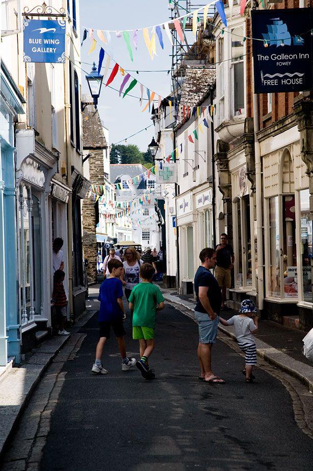 Fore Street, Fowey, Cornwall