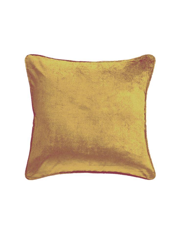Chelsea Ochre Cushion | David Jones
