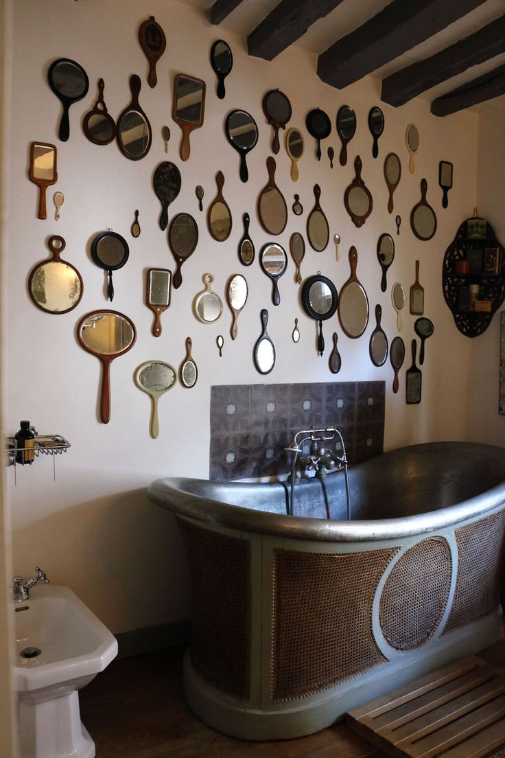 Chiner Chez Lhabitant Antique Mirror WallsWall