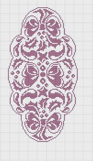 Схема вязания нет. 1334 | Кира схема вязания
