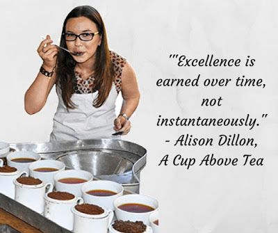 Inspiring People: Alison Dillon, Cup Above Tea Did you know that the favours and aromas of tea are as complex as wine or coffee? It was this realisation that prompted Alison Dillon to create her company, Cup Above Tea. This is what she learned along the way... #InspiringPeople #interviews #GoalSetting