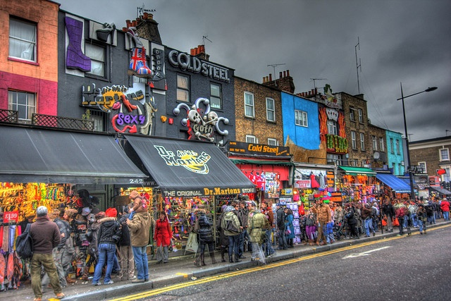 Camden Lock...Insanity that kept me sane while living in London