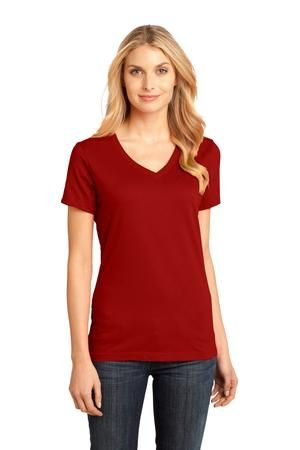 District Made™ - Ladies Perfect Weight V-Neck Tee. A tee made to go with nearly everything in your closet? Perfect. - Arizona Cap Company - (480) 661-0540 Custom Printed & Embroidered. Visit our website for the colors available and the price.