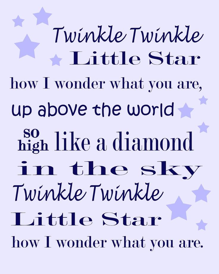 160 best Twinkle Twinkle Little Star ⭐ images on Pinterest ...