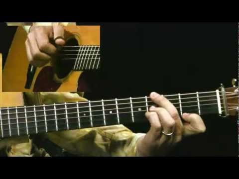 #Acoustic #Guitar #Lessons - The Lone Arranger - #4 500 Miles Melody & Chords - Guitar Lesson - Pete Huttlinger