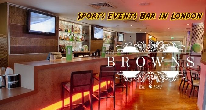 If you are planning to watch the favourite sports team of yours with your friends sitting in a sports bar comfortably? Then your search might end right here in Sports Events Bar in London