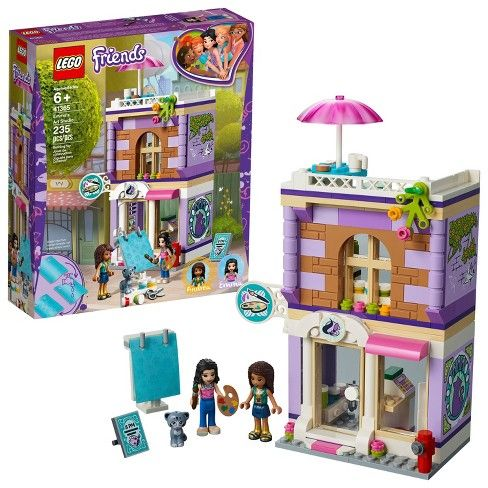 Lego Friends Emmas Art Studio 41365 Ideas For S Lego Lego