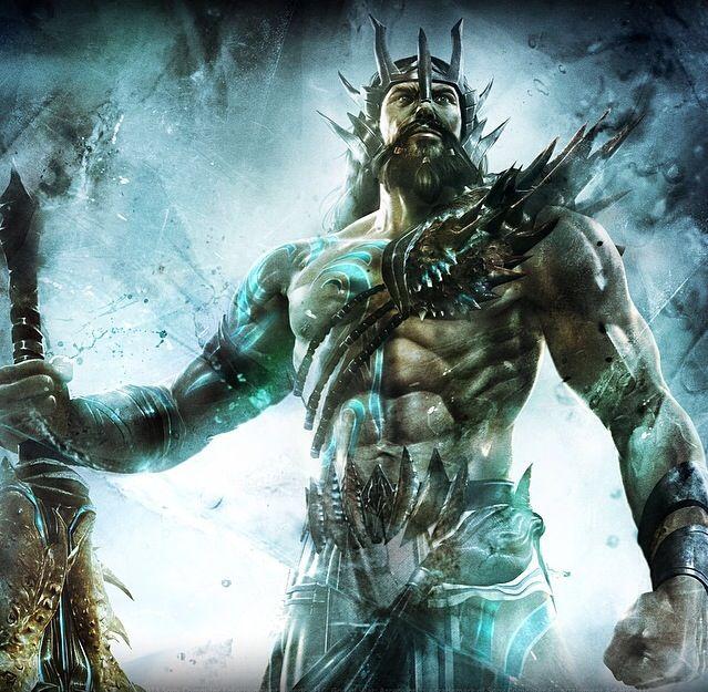Poseidon Symbols: Trident, fish, dolphin, horse, & bull ...