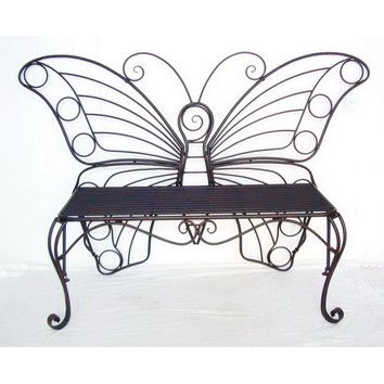Features:  -Material: Metal.  -Perfect for any small area or to accent a larger…