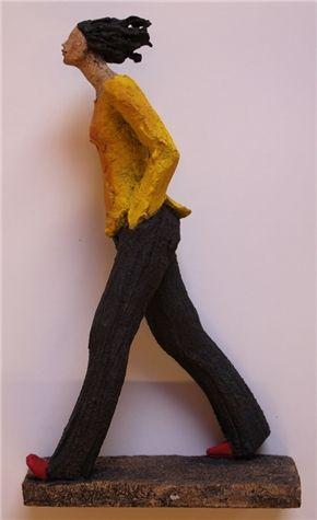Ingun Dahlin: Full Fart.  Også kjent under noe sånt som The Art of Walking With Red Shoes (?)