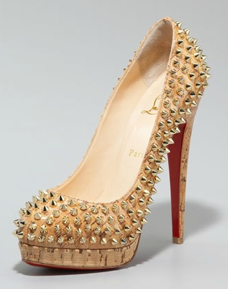 Christian Laboutin - Complete this phrase, If these shoes were a Champagne, they'd be _________