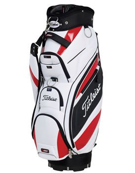 Titleist Golf RC09 Cart Bag White/Black/Red A superb mix of function and style -amp