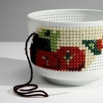 Embroidery bowl