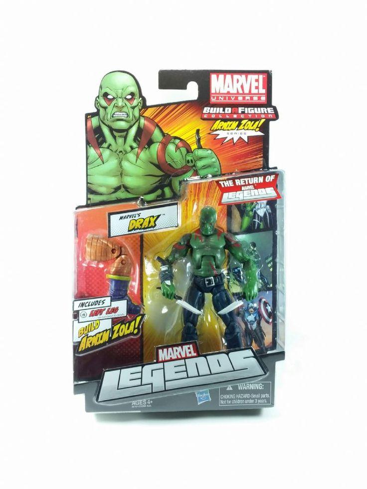 Marvel Universe - Drax Guardians of the Galaxy Action Figure - Arnim Zola Series Marvel Legends- MOC Hasbro Marvel Legends Action Figures 2012 Drax