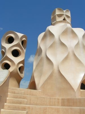 Gaudi Rooftop: Inspiration, Gaudi Rooftop, Art, Barcelona, Antonio Gaudi, Architecture, Spain, Digital Camera, Antoni Gaudí