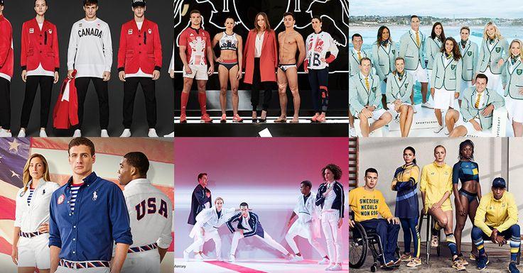 コラムリオ五輪のオシャレ金メダルはどこだ世界中から個性的なユニホームが集結