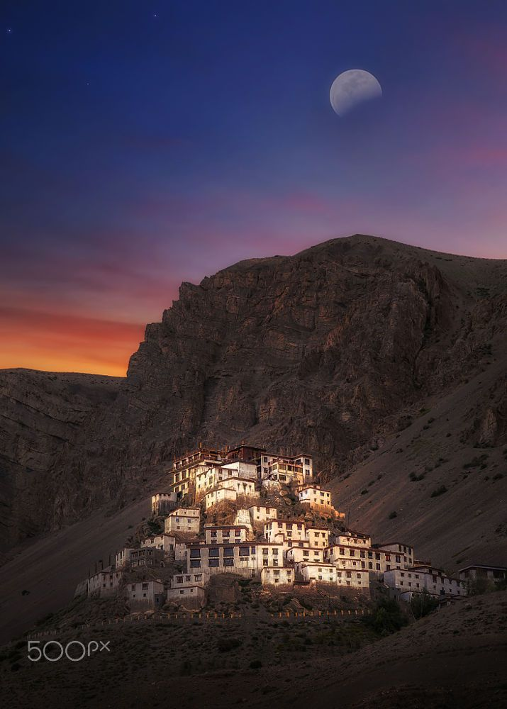 Kye Gompa, Tibetan Buddhist monastery by rn Pictures on 500px