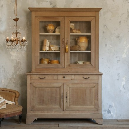 Gorgeous Antique Cabinet In Bleached Oak 6 265 00