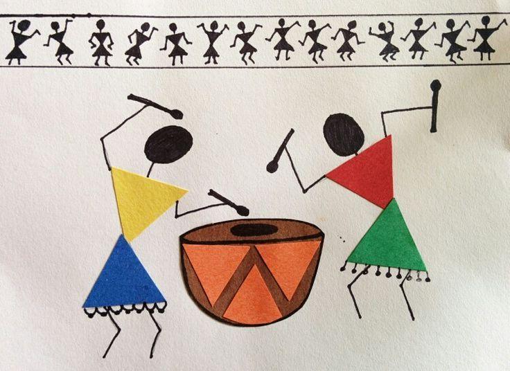 warli drawing  | Tag Archives: Warli Art