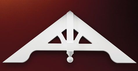 1000 images about gable pediments on pinterest products for Fypon gable pediments