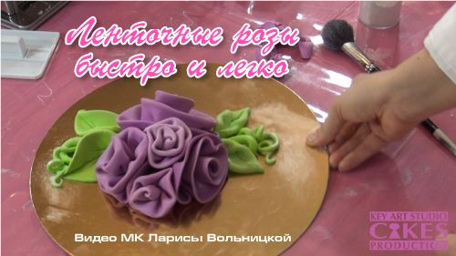 Видео урок «Ленточные розы из мастики быстро и легко»                                     Опубликовано13 марта 2013 автором loravo в Работа блога, Уроки, рецепты, советы профессионалам Комментариев: 99                                                Видео урок «Ленточные розы из мастики быстро и легко» by Larissa Volnitskaia (loravo) / Loravo Blog: Кулинарные записки дизайнера