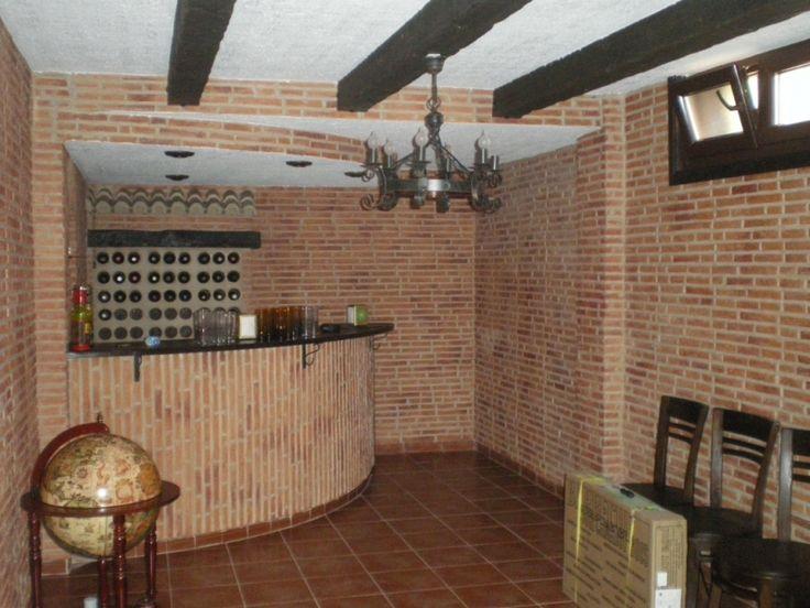 19 best barras de bar images on pinterest bar counter for Bar madera rustica