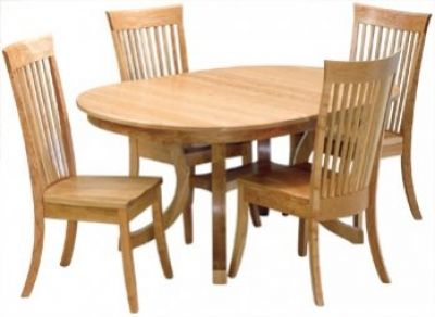 Awesome Oval Carlisle Table Set Custom Built By Fine Amish Furniture Craftsmen And  Offered By Weaver Furniture Sales A Northern Indiana Furniture Company.