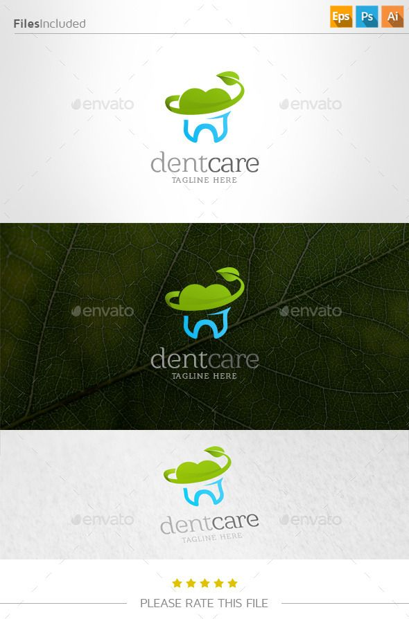 Dental  Logo Design Template Vector #logotype Download it here: http://graphicriver.net/item/dental-logo/11014758?s_rank=1096?ref=nexion