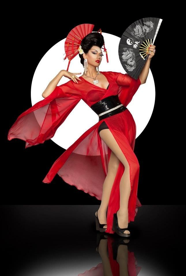 K-BRRA — Oriental beauty of drag = Manila Luzon