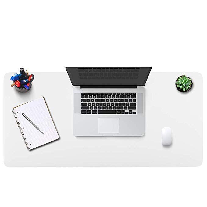 Amazon Com Bubm Desk Pad Office Desktop Protecter 31 5 X 15 7 Pu Leather Desk Mat Blotters Organizer Mouse Pad With Comfort Leather Desk Desk Pad Desk Mat